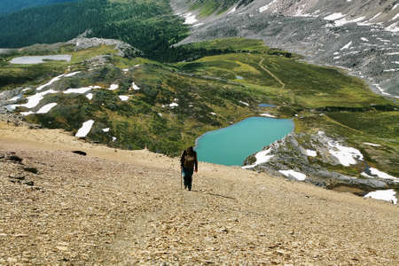 cirque: Helen Lago dal picco circo, il parco nazionale di Banff