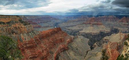 navajo land: Grand Canyon National Park viewpoint, Arizona
