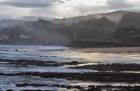 cantabria: Beach of Comillas, Cantabria, Spain