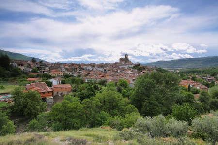 Pueblo de Hervás, en la provincia de Cáceres, Extremadura, España Foto de archivo - 25243055