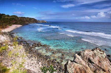 north shore: Poelua bay in north shore Maui, Hawaii