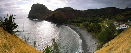 north shore: Kahakuloa Head in North shore Maui, Hawaii