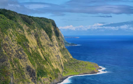 Waipio Valley view in Big island, Hawaii photo