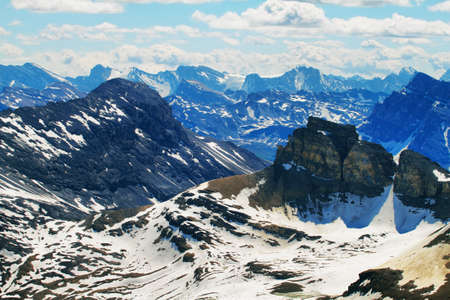 banff national park: View from Cirque peak, Banff national park