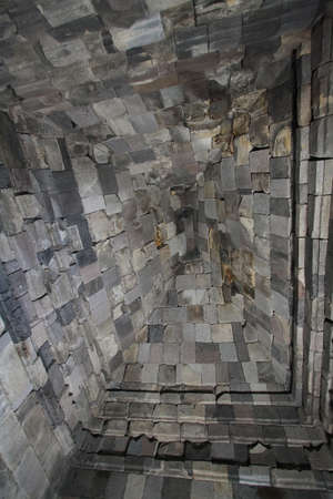 Roof textures in Prambanan temple, Yogyakarta, Java island, Indonesia. photo