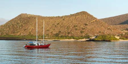 bartolome: Volcanic landscape of Santiago island from Bartolome, Galapagos, Ecuador