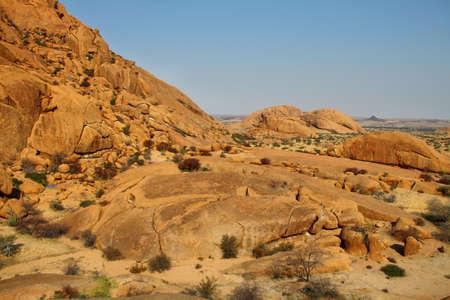 spitzkoppe: Colorful rocky landscape in Spitzkoppe, Namibia