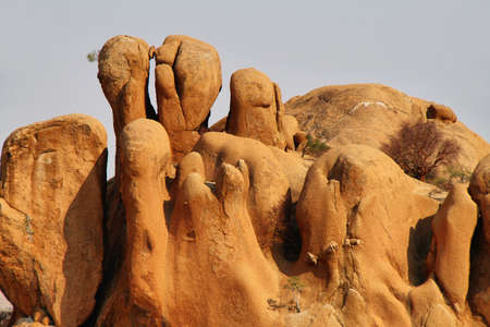 spitzkoppe: Curious rock formations in Spitzkoppe, Namibia