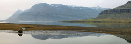 the east coast: Beautiful landscape in the east coast of Iceland