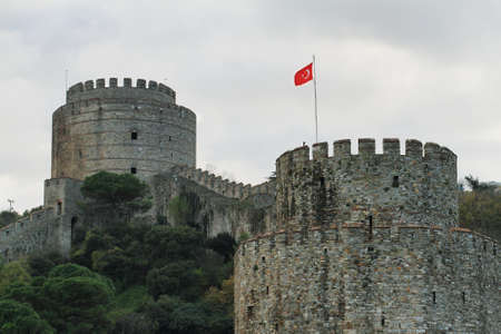 rumeli: Rumeli Castle from Bosphorus river boat in Istanbul