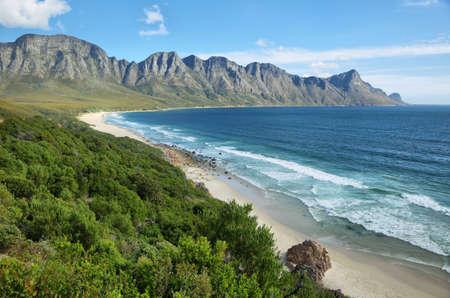 Gordons Bay, cerca de Ciudad del Cabo, Sudáfrica Foto de archivo - 37226150