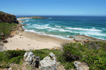 Robberg nature reserve in South Africa Imagens