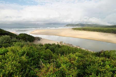 Myoli Strand in Sedgefield, Südafrika Standard-Bild - 39581610