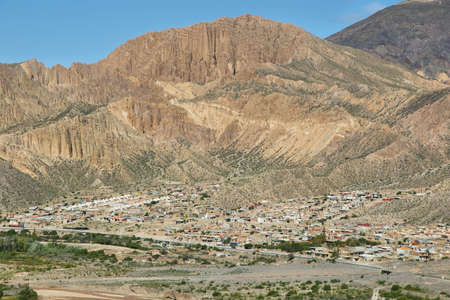 fortification: Views from the Pucara de Tilcara pre-inca fortification,  Jujuy province, Argentina