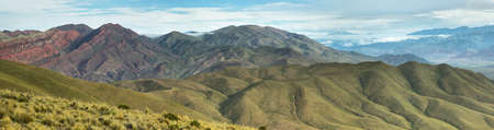 redish: Valley near place known as Serrania del Hornocal, Jujuy province, Argentina