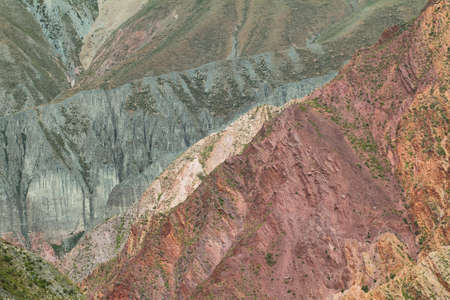 isidro: Multicolored mountains between Iruya and San Isidro villages, Salta province, Argentina