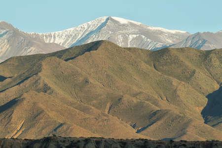 nevado: Views of Nevado de Cachi from Payogasta, Argentina