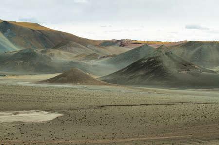 pyramidal: Curious pyramidal formations in Sico Pass on the way to San Pedro de Atacama, Chile
