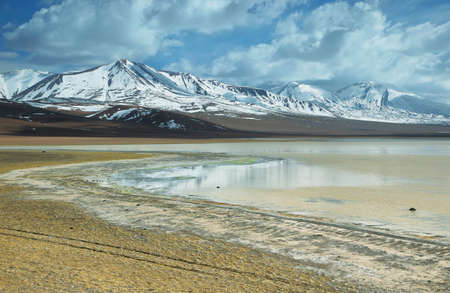 bleach: Laguna lejia (bleach lake) in Atacama region, Chile