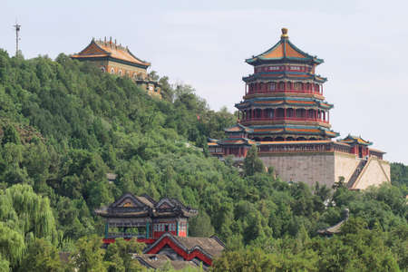 historic site: Summer Palace in Beijing, China Editorial