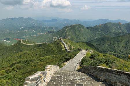 badaling: Ancient great Wall of Badaling in China