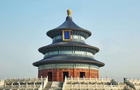temple of heaven: Temple of Heaven in Beijing, China Stock Photo