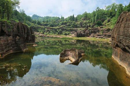 hunan: Hongshilin national park in Hunan province, China