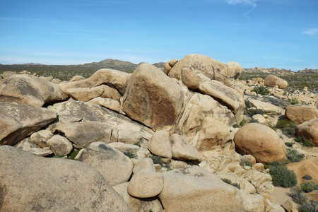 joshua: Arch rock in Joshua Tree NP, California Stock Photo