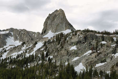 Crystal crag in Mammoth lakes national park, California