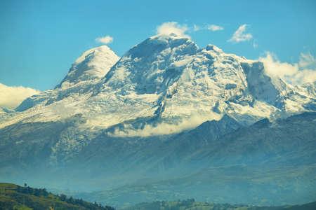 Huascaran peak (6768m), Peru Stok Fotoğraf