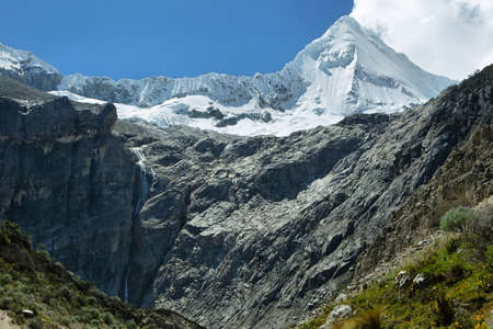 Artesonraju piek (6025m), Ancash provincie, Peru