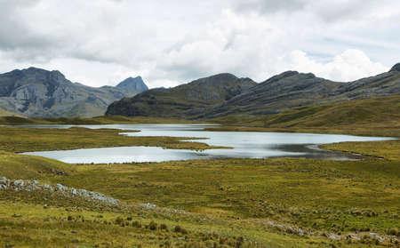 ancash: Huachucocha lake, Ancash province, Peru