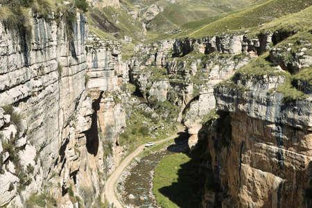 Shucto Gorge in Reserva paisaj�stica Nor Yauyos-Cochas, Peru