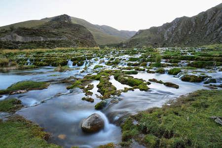 Clear waters of Ca�ete river near Vilca village, Reserva paisaj�stica Nor Yauyos-Cochas, Peru