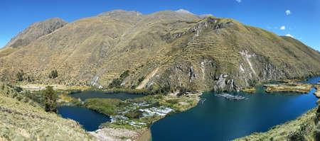 Clear waters of Ca?ete river near Vilca village, Reserva paisaj?stica Nor Yauyos-Cochas, Peru