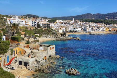 Calella de Palafrugell fishing village in catalonia, spain.