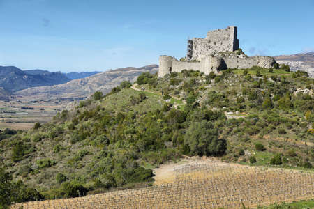 Chateau dAguilar Cathar castles, Aude d�partement of France