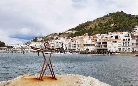 Port de la Selva, nice small traditional village in Costa Brava. Editorial