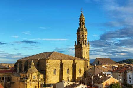 La Asuncion church in Briones, La Rioja, Spain