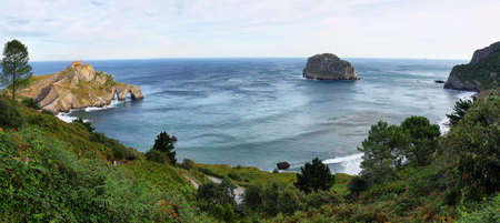 San juan de Gaztelugatxe Peninsula in Basque Country