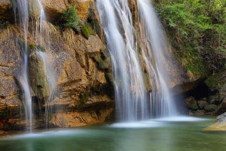 Waterfalls in Catalonia: gorgs de la Cabana, Campdevanol, Girona, Spain