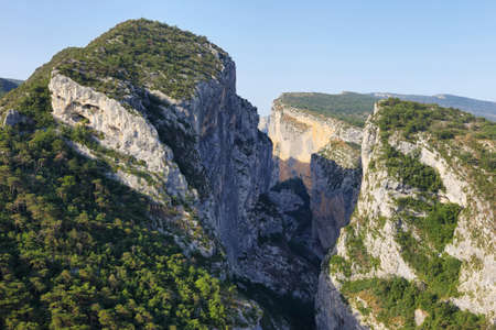 Amazing viewpoint of Verdon Gorge, Provence, France Imagens