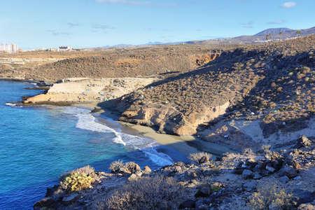 Diego Hernandez beach in Adeje, Tenerife, Canary islands, Spain