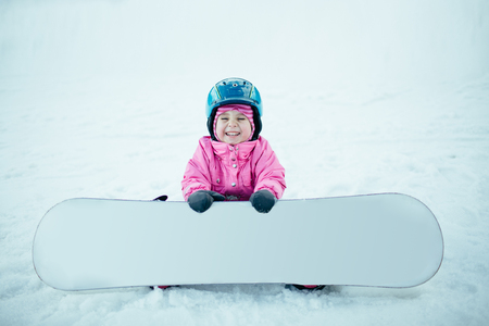 Mensen Snowboard Winter Sport. Stockfoto