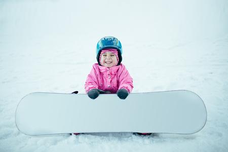 People Snowboard Winter Sport.