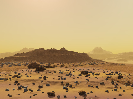 martian: Martian landscape