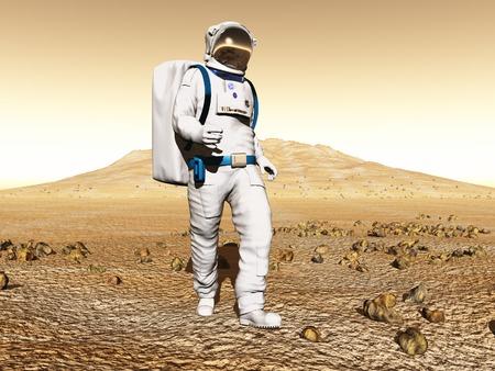 prospector: Hombre exploración de Marte