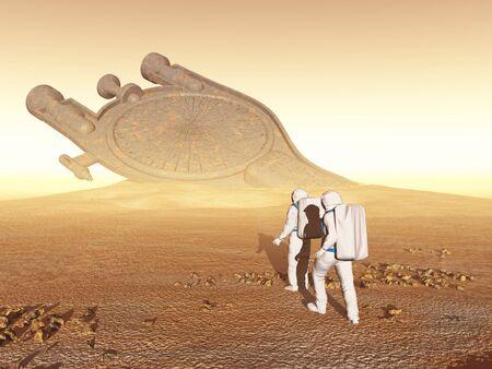 prospector: Los astronautas descubren una antigua nave espacial