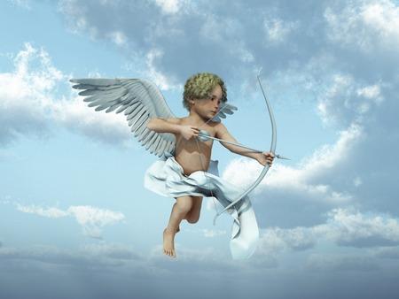 Cupido  Foto de archivo - 67847157
