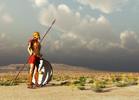 hoplite: Ancient Greek warrior